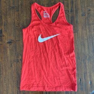Nike Swoosh Logo Racerback Tank Top